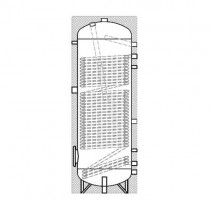 Heatpump hot water tank BWS-WP 300-500